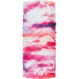 Buff Coolnet UV+ Neck Tube Ray Rose Pink